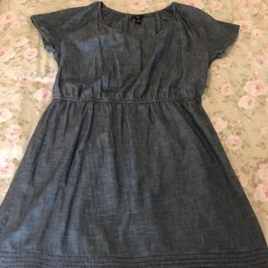 Gap elastic waist dress.